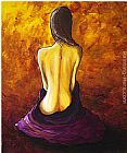 Megan Aroon Duncanson Serena Lady Nude painting