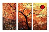 landscape The Golden Spot painting