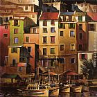 Michael O'Toole Mediterranean Gold painting