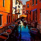 Michael O'Toole Venetian Colours painting