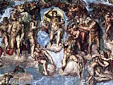 Christ paintings - Simoni57 by Michelangelo Buonarroti