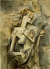 pablo picasso Paintings - Girl with Mandolin Fanny Tellie