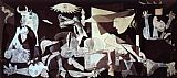 pablo picasso Paintings - Guernica