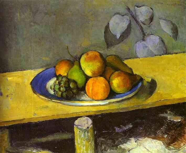 Paul Cezanne Apples Peaches Pears and Grapes