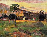 Paul Gauguin Come Here painting