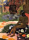 Paul Gauguin Her Name is Viaraumati painting