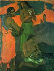 Paul Gauguin Maternity painting