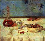 Paul Gauguin Still Life with Cherries painting