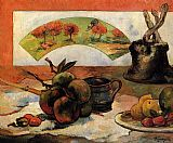 Paul Gauguin Still Life with Fan painting