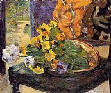 Paul Gauguin The Makings of a Bouquet painting