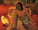 Paul Gauguin Vairumati painting