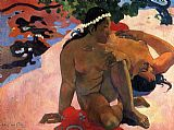 Paul Gauguin What Are You Jealous painting