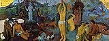 Paul Gauguin Where Do We Come From painting