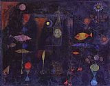 Paul Klee Fish Magic painting