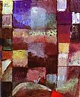 Paul Klee On a Motif from Hamamet painting