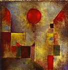 Paul Klee Red Ballon painting