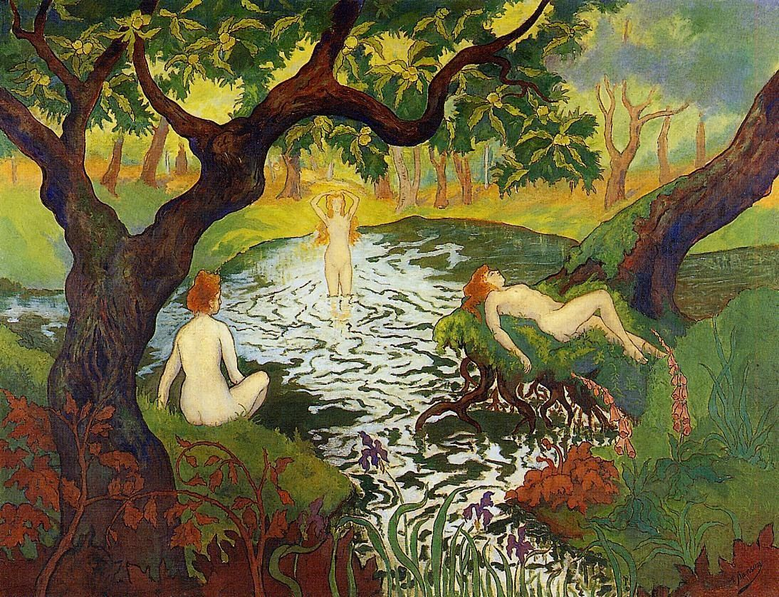 Paul Ranson Three Bathers with Irises