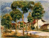 Pierre Auguste Renoir A Sunny Street painting