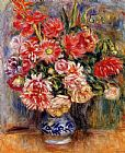 Pierre Auguste Renoir Bouquet painting