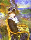 Pierre Auguste Renoir By the Seashore painting