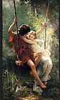 Pierre-Auguste Cot spring painting