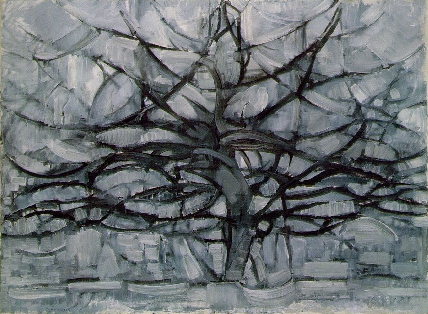 Piet Mondrian Gray Tree
