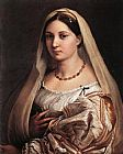 Raphael The Woman with The Veil painting