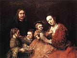 Rembrandt Family Group painting