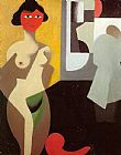 Rene Magritte Woman Bathing painting