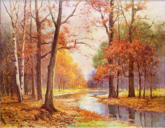 Robert Wood Autumn Glade