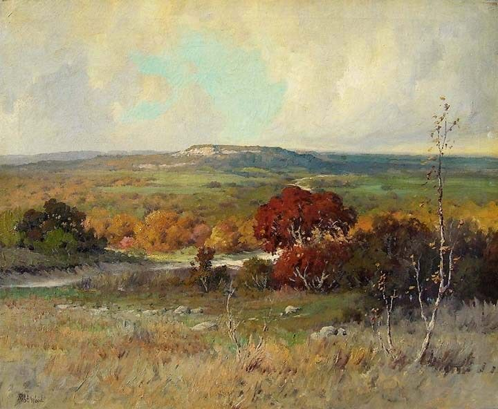 Robert Wood Autumn in the Desert