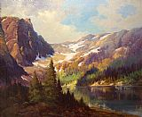 Robert Wood Payne Lake, California painting