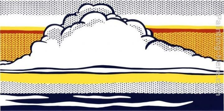 Roy Lichtenstein Cloud and Sea, 1964