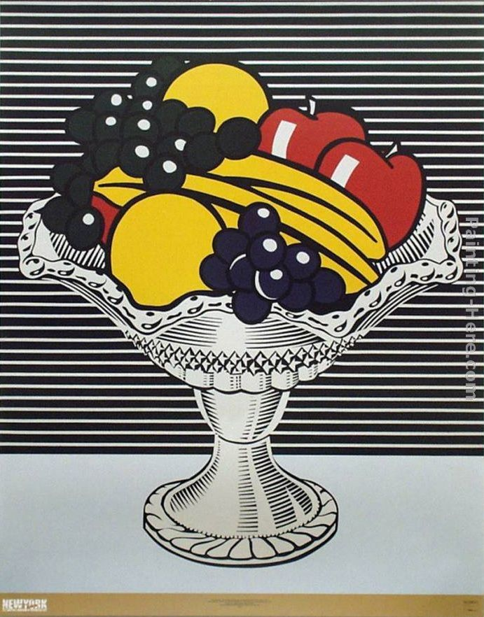 Roy Lichtenstein Still Life with Crystal Bowl