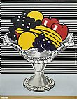 Roy Lichtenstein Still Life with Crystal Bowl painting