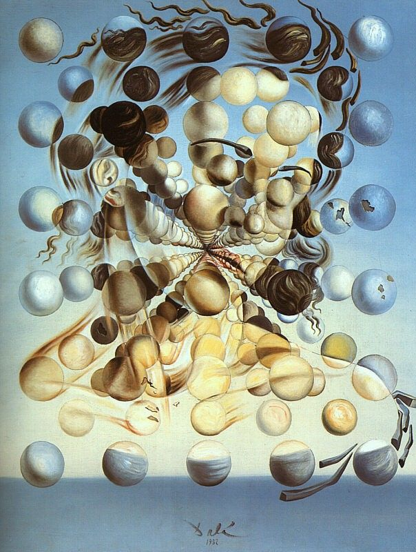 Salvador Dali Galatea of the Spheres