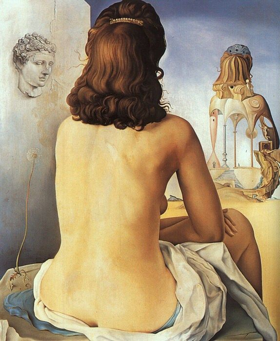 Salvador Dali My Wife,Nude
