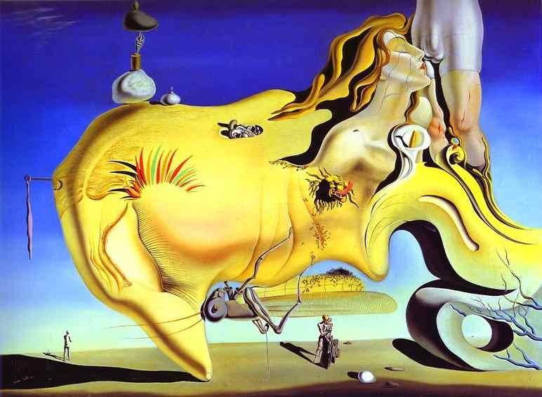 Salvador Dali The Great Masturbator
