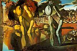 Salvador Dali The Metamorphosis of Narcissus painting