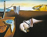 Salvador Dali The Persistence of Memory painting