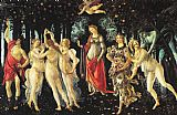 Nude paintings - La Primavera by Sandro Botticelli