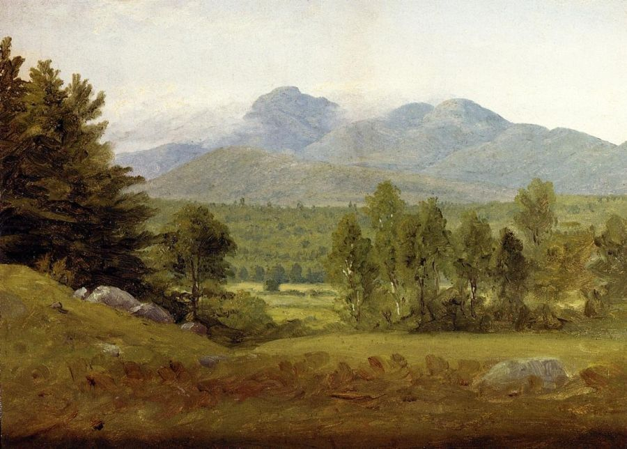 Sanford Robinson Gifford Sketch of Mount Chocorua, New Hampshire