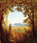 Sanford Robinson Gifford Hook Mountain on the Hudson River painting
