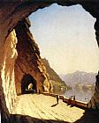 Sanford Robinson Gifford The Galleries of the Stelvio, Lake Como painting