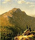 Sanford Robinson Gifford View of Catskills painting