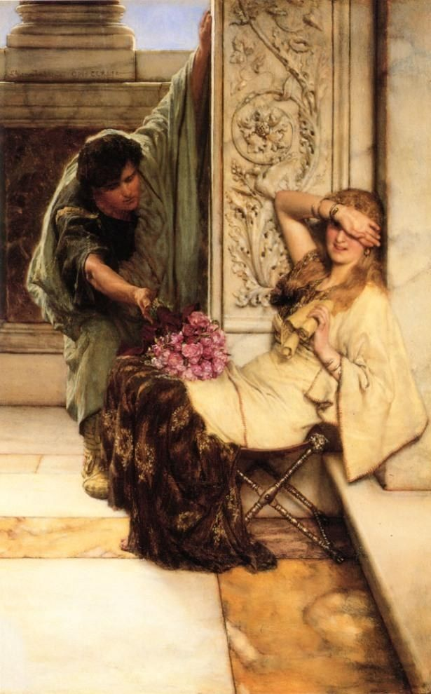 Sir Lawrence Alma-Tadema Shy
