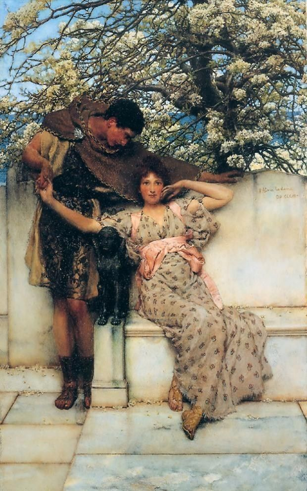 Sir Lawrence Alma-Tadema promise of spring