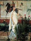 Sir Lawrence Alma-Tadema A greek woman painting