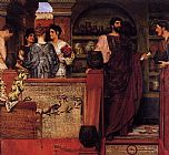 Sir Lawrence Alma-Tadema Hadrian Visiting a Romano British Pottery painting