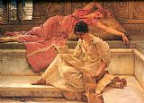 Sir Lawrence Alma-Tadema The Favourite Poet painting